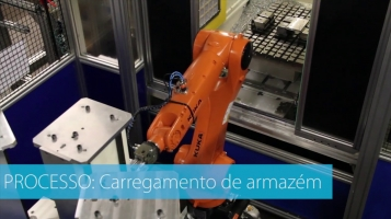 Automatização de máquinas CNC [HEPCOMOTION]