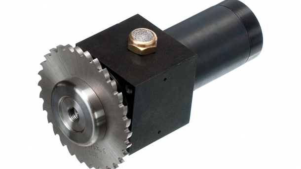 Pneumatic milling unit BE 22 SKM