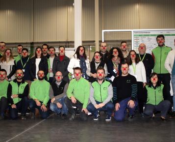 Colaboradores da Fluidotronica contribuem para a Operação Nariz Vermelho