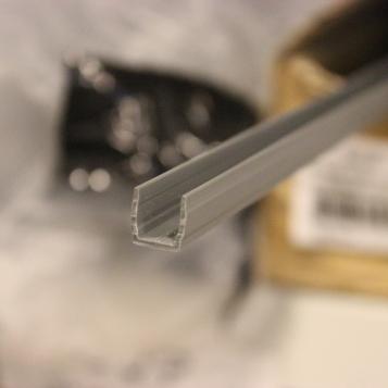 BIT ou tampa de cobertura (cinza) pperfil 30 22.1161-1