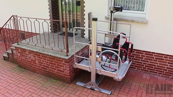 Elevador de cadeira de rodas - Unidade GG 90 [BAHR]