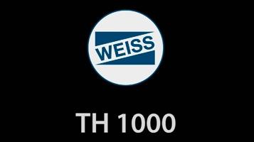 Mesa de indexagem vertical livremente programável TH 1000 [WEISS]