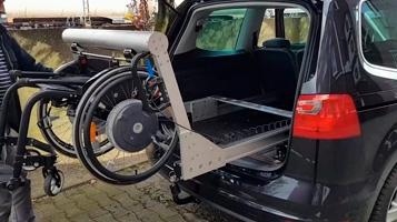 Elevador para cadeira de rodas - Unidade linear UL 80 [BAHR]