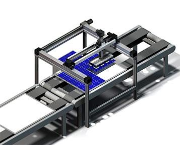 Eixos lineares BAHR na produção de componentes eletrónicos