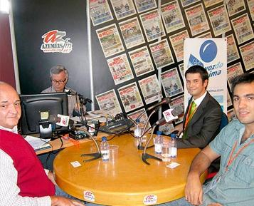 Entrevista à Azeméis FM na Feira das PME's
