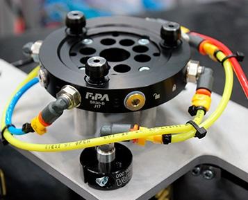 Os sistemas de troca rápida FIPA minimizam o tempo de configuração