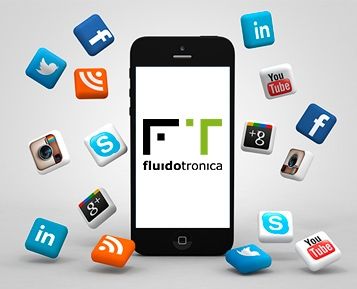 Siga a Fluidotronica nas redes sociais