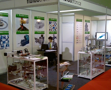 Fluidotronica na MOLDPLÁS / TECNA 2011