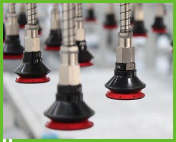FIPA's Varioflex Bellows Vacuum Cups