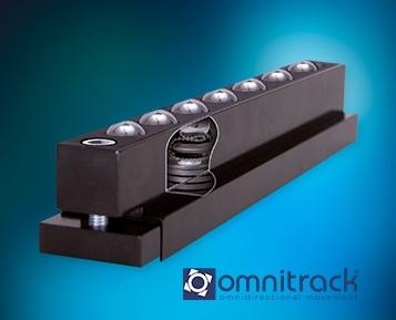 Conte com um transporte fácil e preciso com as Barras T e B da Omnitrack