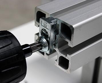Elementos de fixação MiniTec: conexão inteligente, montagem rápida e fácil