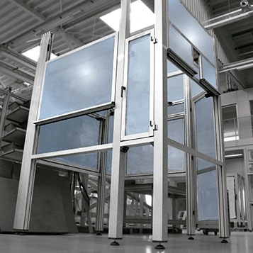 Industrial Safety Guards and Safety Areas