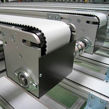 Timing belt conveyors