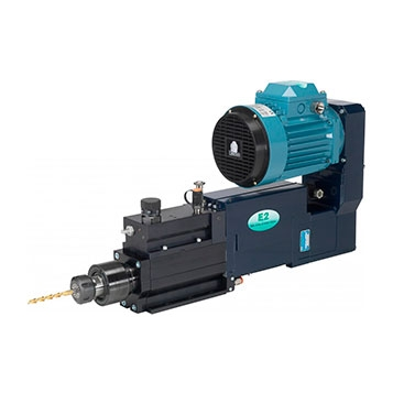 Electro pneumatic / Hydraulic drill units with feed