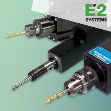 E2 SYSTEMS - Furação, corte e roscagem