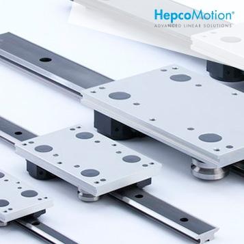 HEPCOMOTION - Componentes de movimento linear e guias lineares
