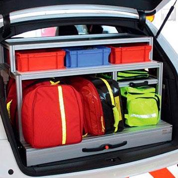 Vehicle Interior Construction / Firefighting technology