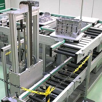 Roller conveyors RMS