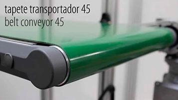 BELT CONVEYOR – SERIES 45 [FLUIDOTRONICA]