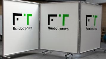 Biombo / placar para publicidade [FLUIDOTRONICA]