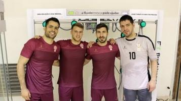 Seleção Nacional de Hóquei em Patins testa FluidoSports [FLUIDOTRONICA]