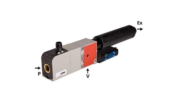 Ejectors with air saving function EKP and EKPP