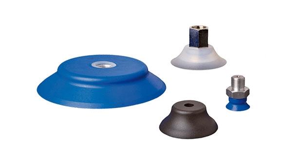 Universal flat vacuum cups - Series SFU-A