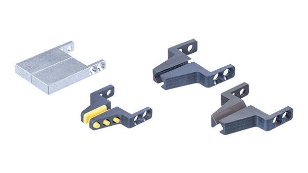 Interchangeable jaws for gripper GR04.100U