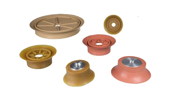 Flat vacuum cups for textured surfaces – SFU-R