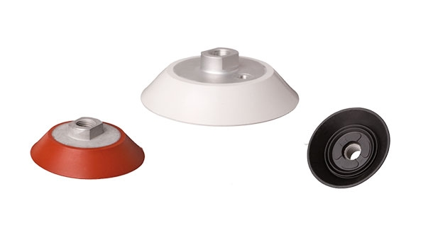 Flat vacuum cups with safety sealing lips - SFU-S