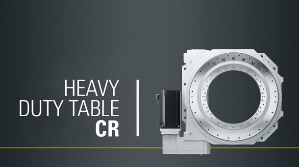 CR 700 Dynamic & Precision Heavy duty rotary table [Available soon]