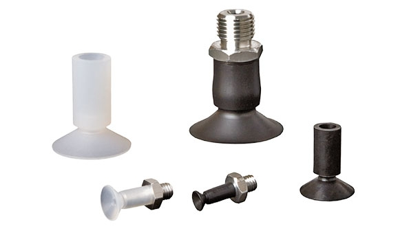 Flat vacuum cups with a long shaft - SFU-L