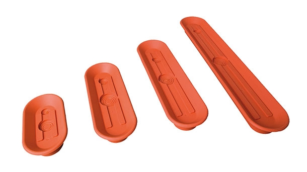 Oval vacuum suction plates - SOPL-S and SOPL-A