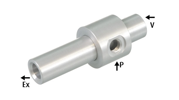 Feed ejectors – with a large passage