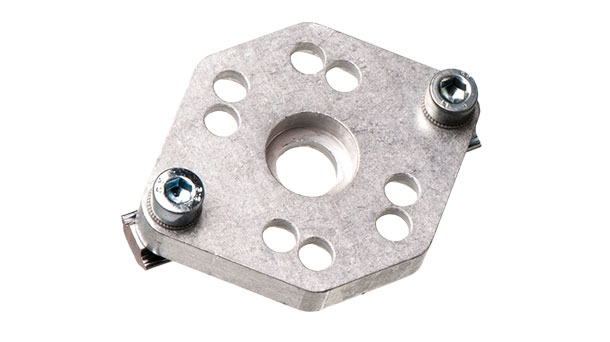 Mounting plates for needle gripper
