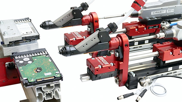 Automatic screwdrivers for screws SEL