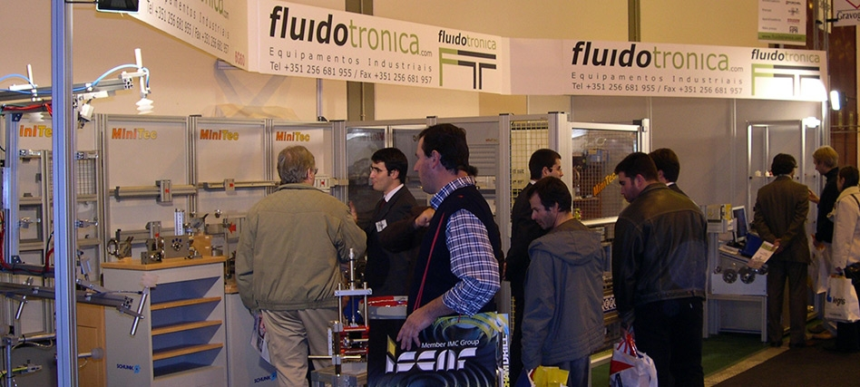 Fluidotronica marca presença na EMAF 2004