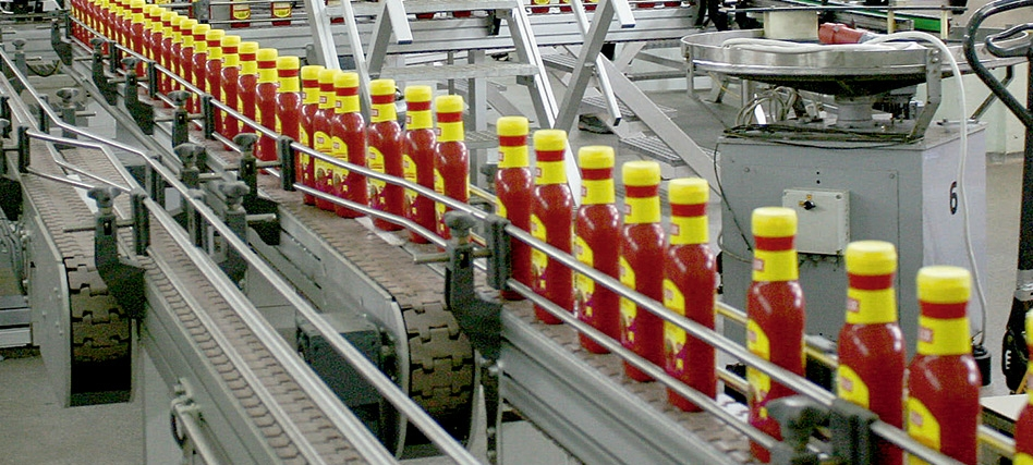 Segmented chain conveyors: solution for large production lines