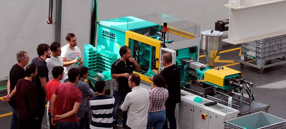 Fluidotronica will receive the Machine Injection and Adjustment Course in 2020