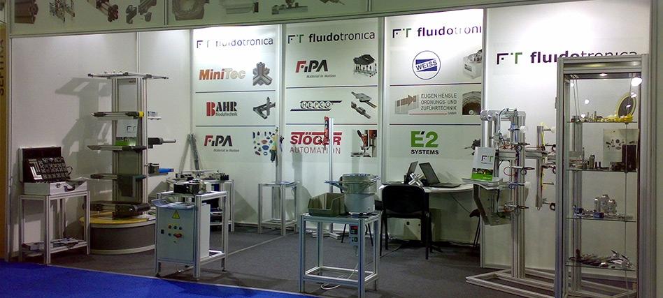 Fluidotronica present in MOLDPLAS 2008