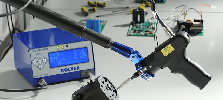 Easily control torque and angle with Kolver's help