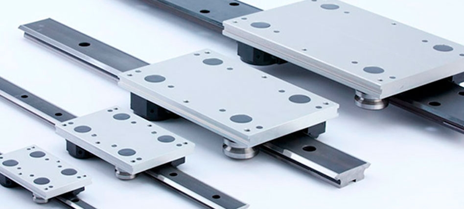 Linear Motion Components - Linear Guides and Bearings