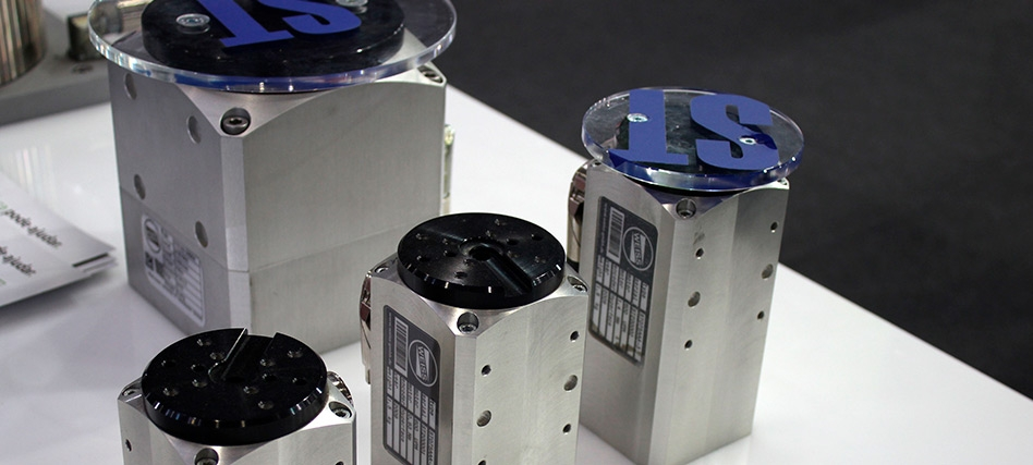 ST rotary units: perfect for fast, accurate and highly dynamic movements